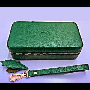Pandora green jewelry box